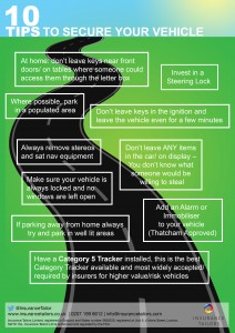 Vehicle Safety Infographic