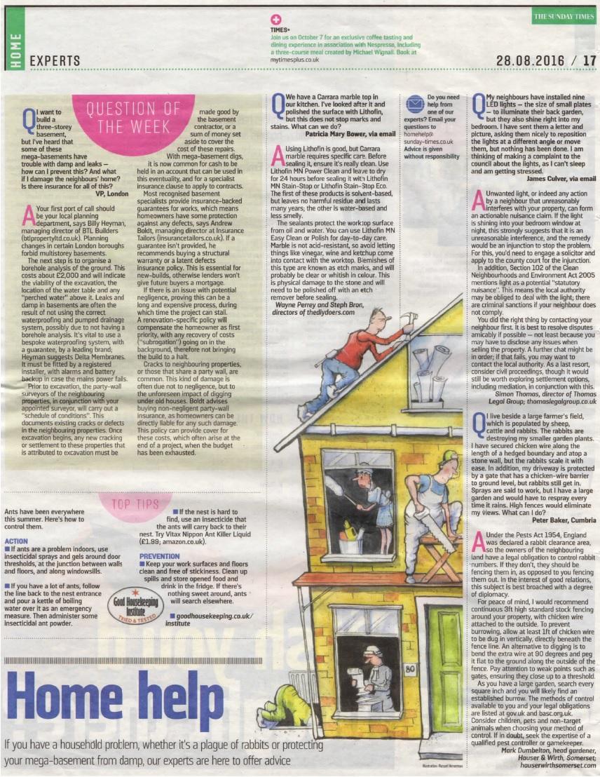 InsuranceTailors_TheSundayTimes_HomeHelp_28.08.2016