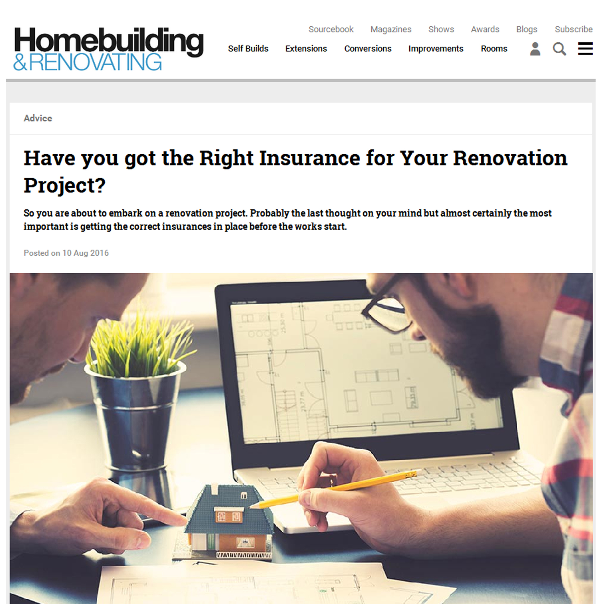 Have you got the right insurance for your renovation ...