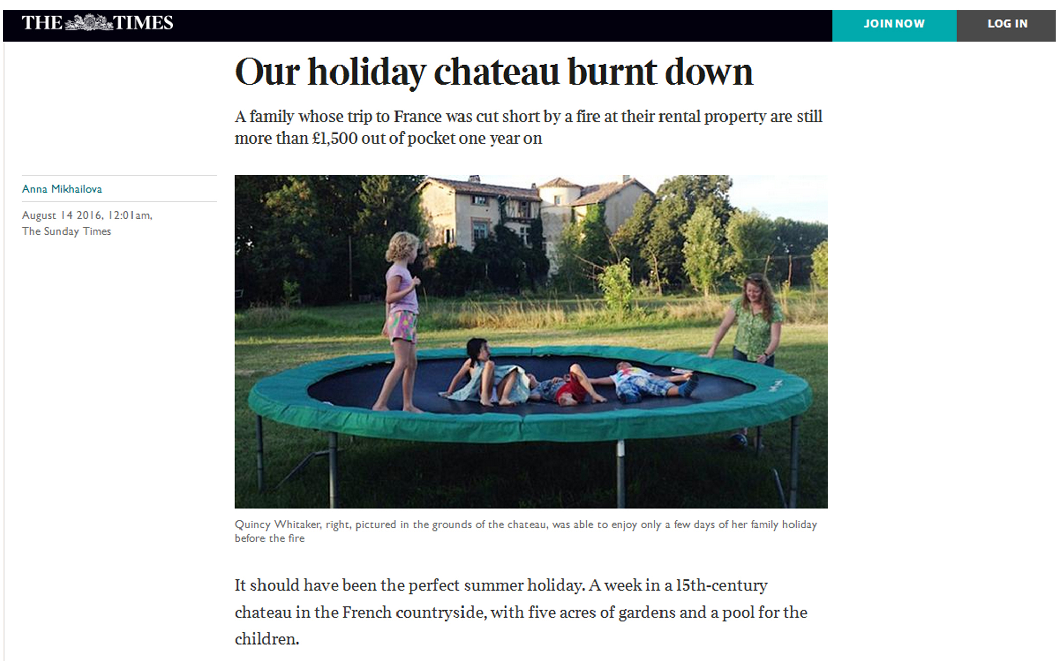 160814_Our holiday chateau burnt down_1